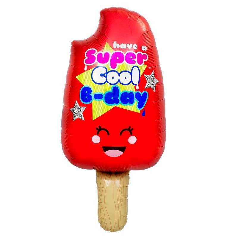 SMP popsicle super cool b-day foil balloon 86 cm
