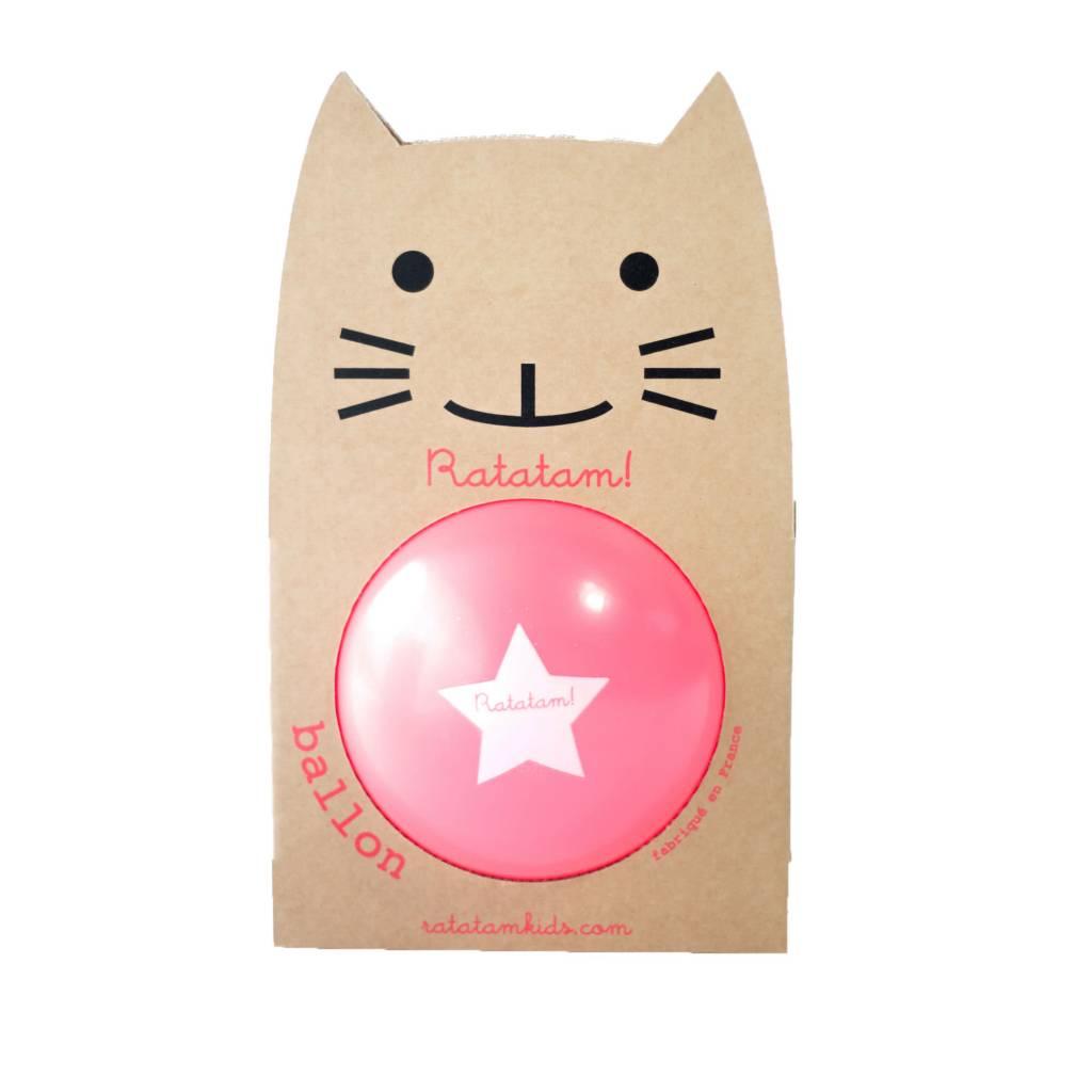 RATATAM ball neon pink 15 cm