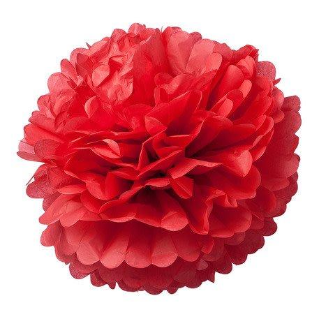 AF 2 paper pompons red 40 cm & 50 cm