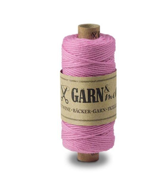 Garn & Mehr bakers twine pink