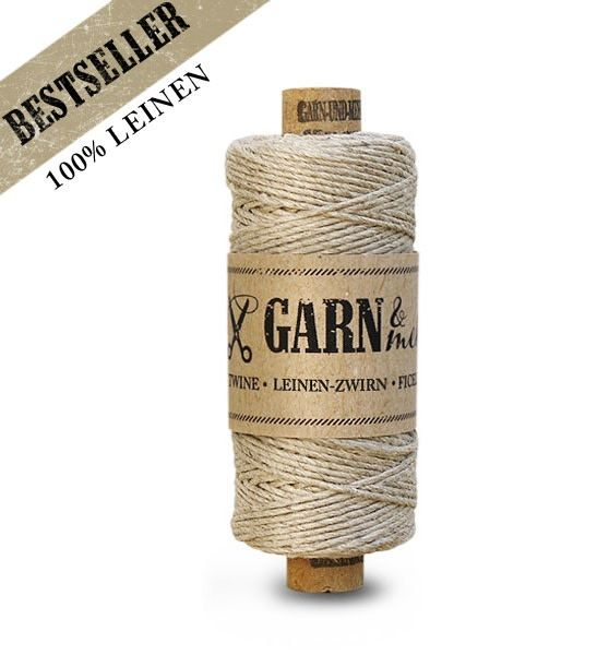 Garn & Mehr bakers twine linen natural