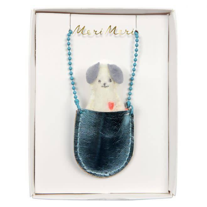 MERIMERI Dog pocket necklace