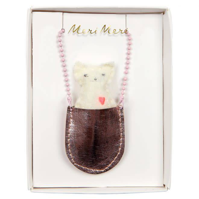 MERIMERI Cat pocket necklace