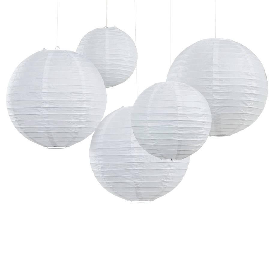GINGERRAY paper lantern white