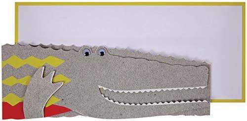 MERIMERI Crocodile card
