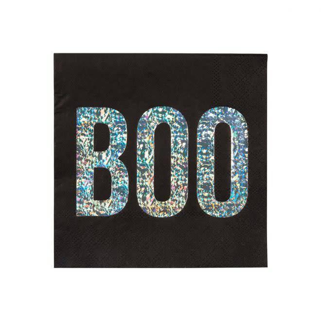 MERIMERI Spooky BOO napkins S