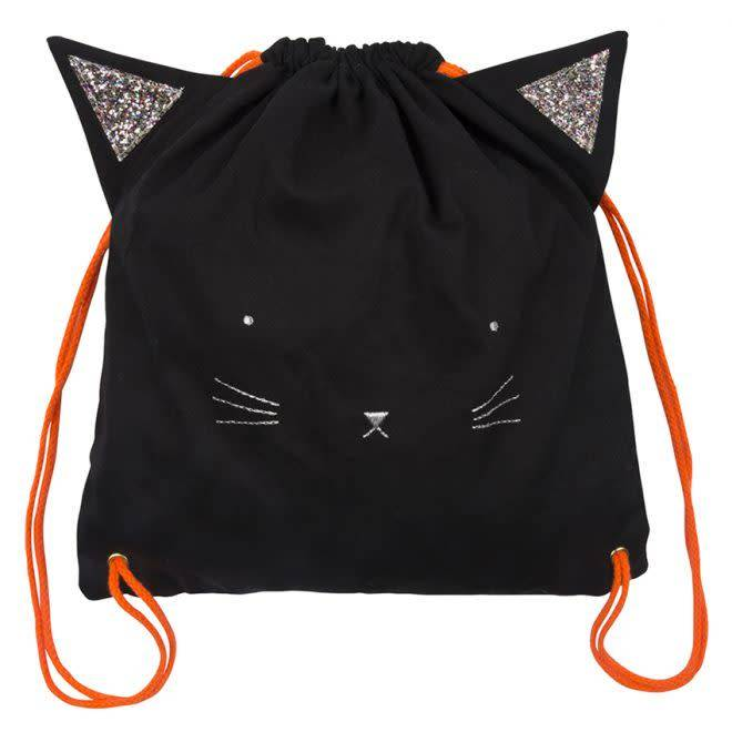 MERIMERI Black cat Halloween backpack