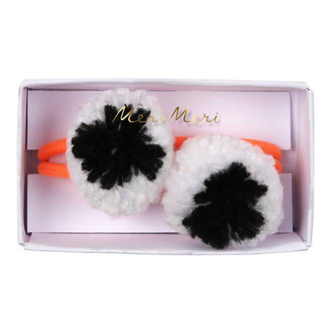 MERIMERI Eyeball pompom hair ties