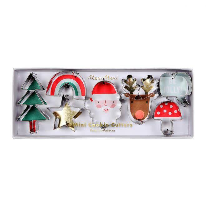 MERIMERI Festive icons cookie cutters