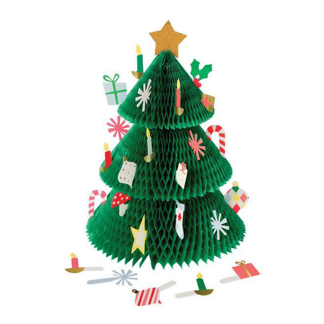 MERIMERI Christmas tree advent calendar