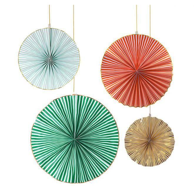 MERIMERI Giant stripy pinwheels XL