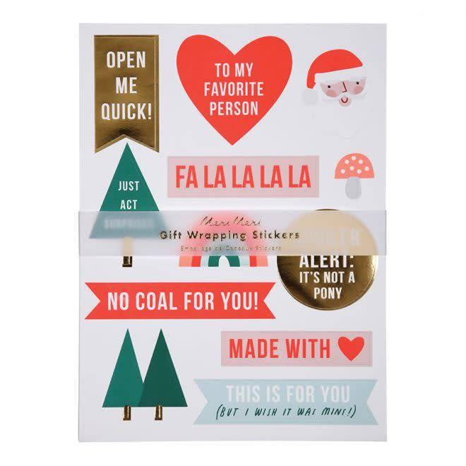 MERIMERI Festive stickers
