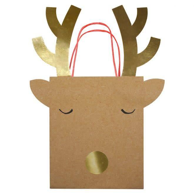 MERIMERI Reindeer gift bags M