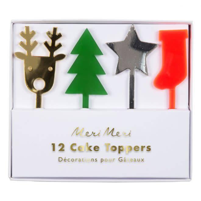 Christmas Cake Toppers.Acrylic Christmas Cake Toppers