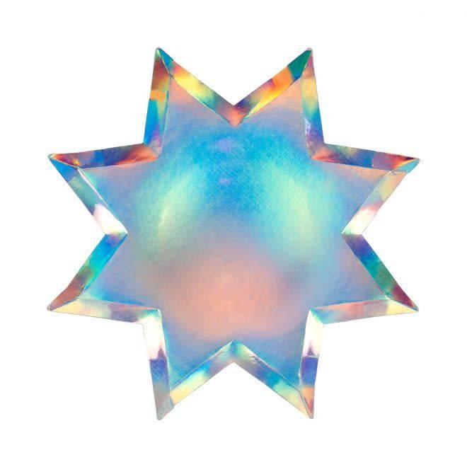 MERIMERI Shining star plates