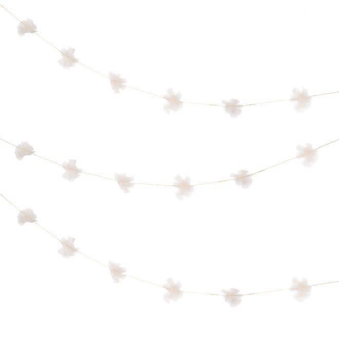 MERIMERI Shimmering tulle garland