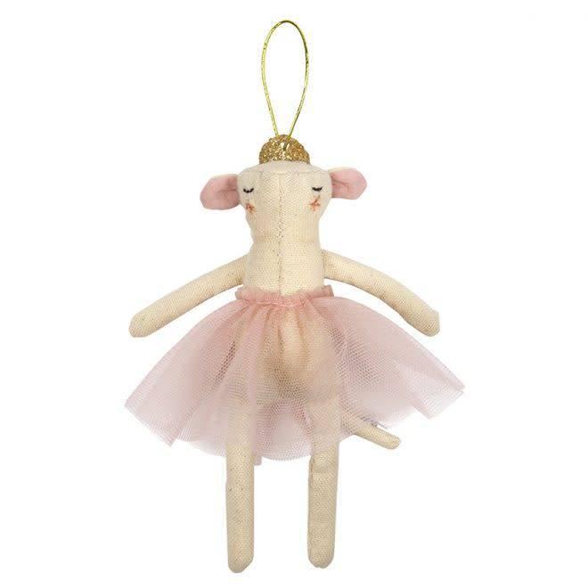 MERIMERI Ballerina mouse hanging ornament