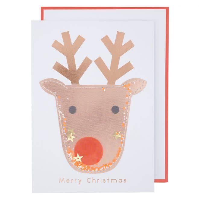 MERIMERI Reindeer shaker card