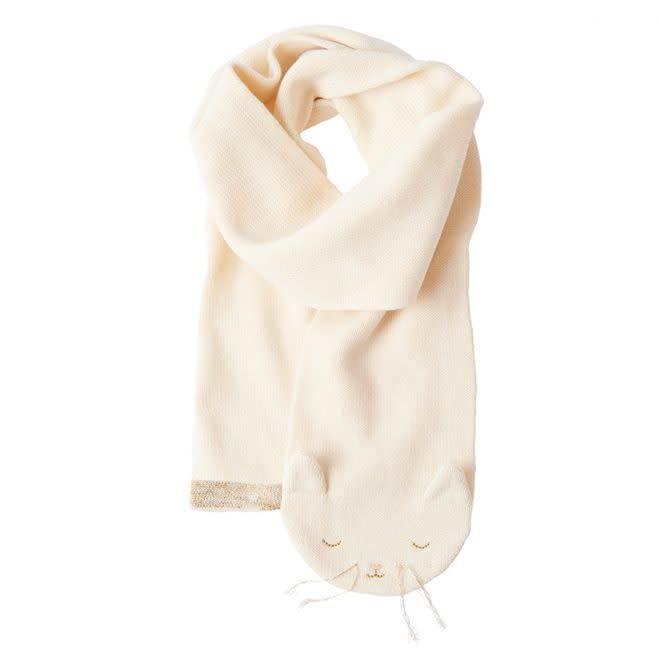 MERIMERI Knitted kitten scarf