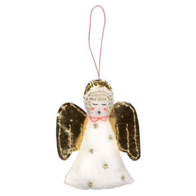 MERIMERI Angel felt hanging decoration