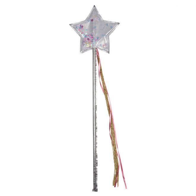 MERIMERI Silver shaker wand