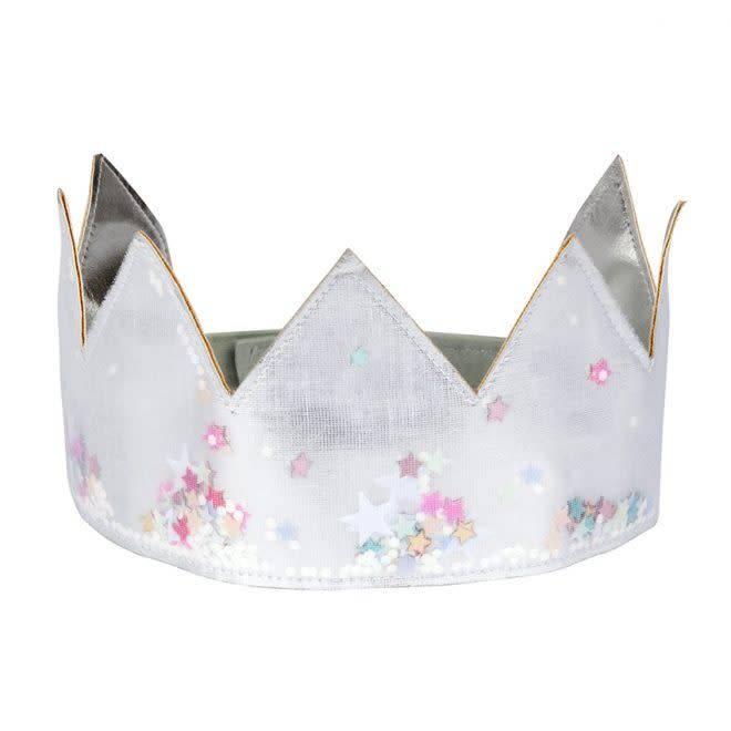 MERIMERI Silver shaker crown