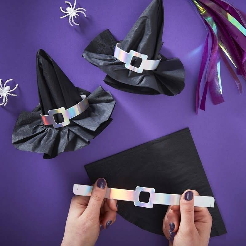 GINGERRAY Creep It Real - Witch Hat Napkin