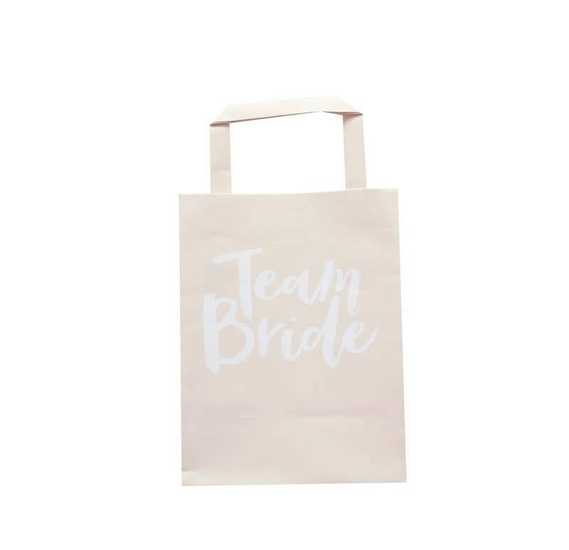 GINGERRAY Team Bride Party Bags with Handles - Team Bride