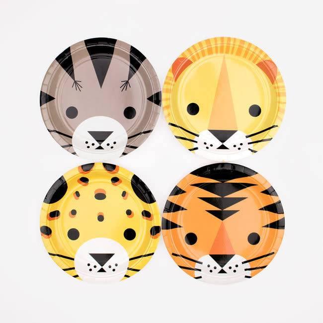 MY LITTLE DAY paper plates - mini felines