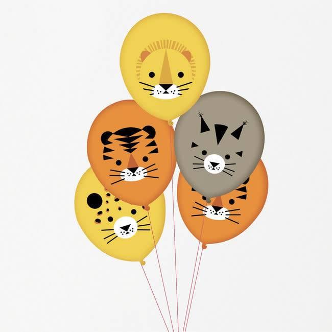 MY LITTLE DAY tattooed balloons - mini-felines