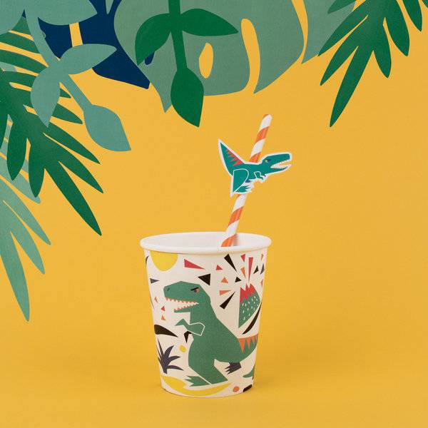 MY LITTLE DAY paper cups - dinosaur
