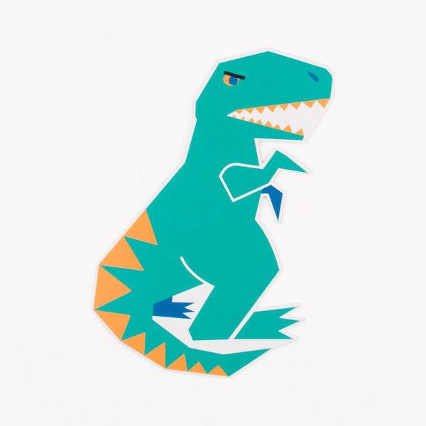 MY LITTLE DAY invitations - dinosaur
