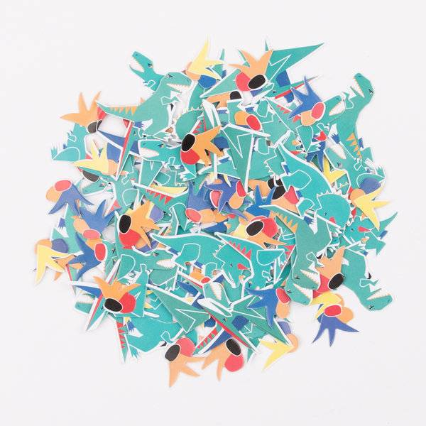 MY LITTLE DAY confetti - dinosaur