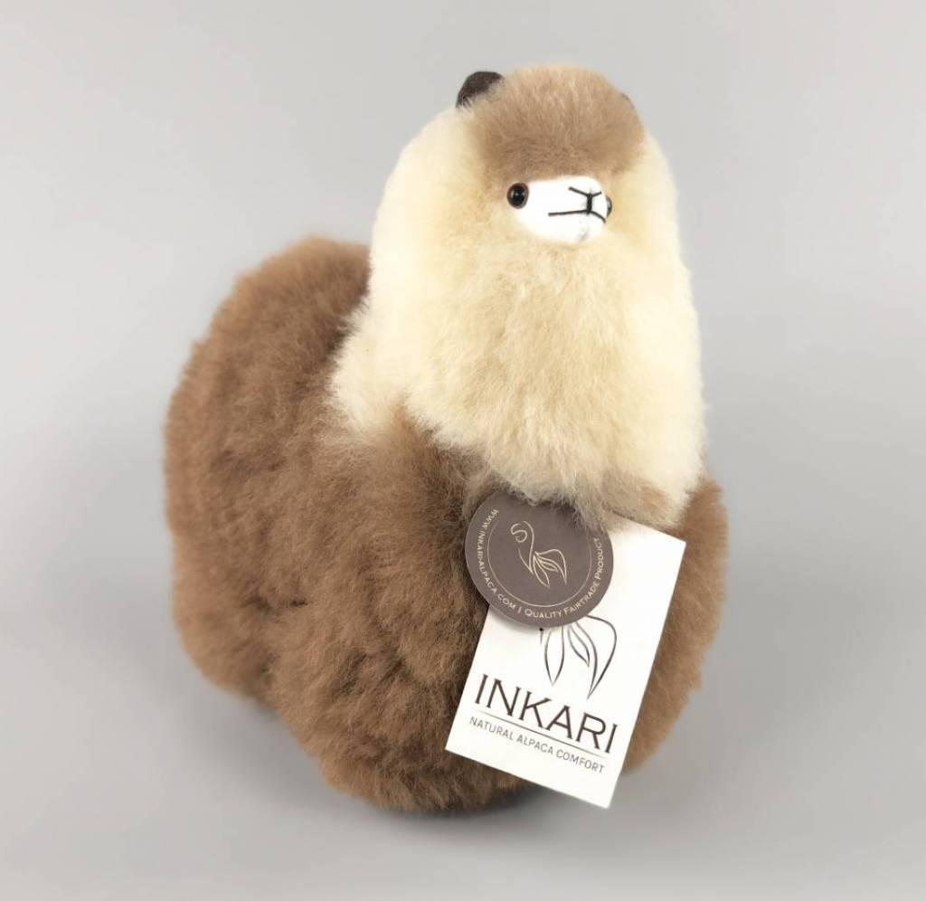 INKARI alpaca small beige brown