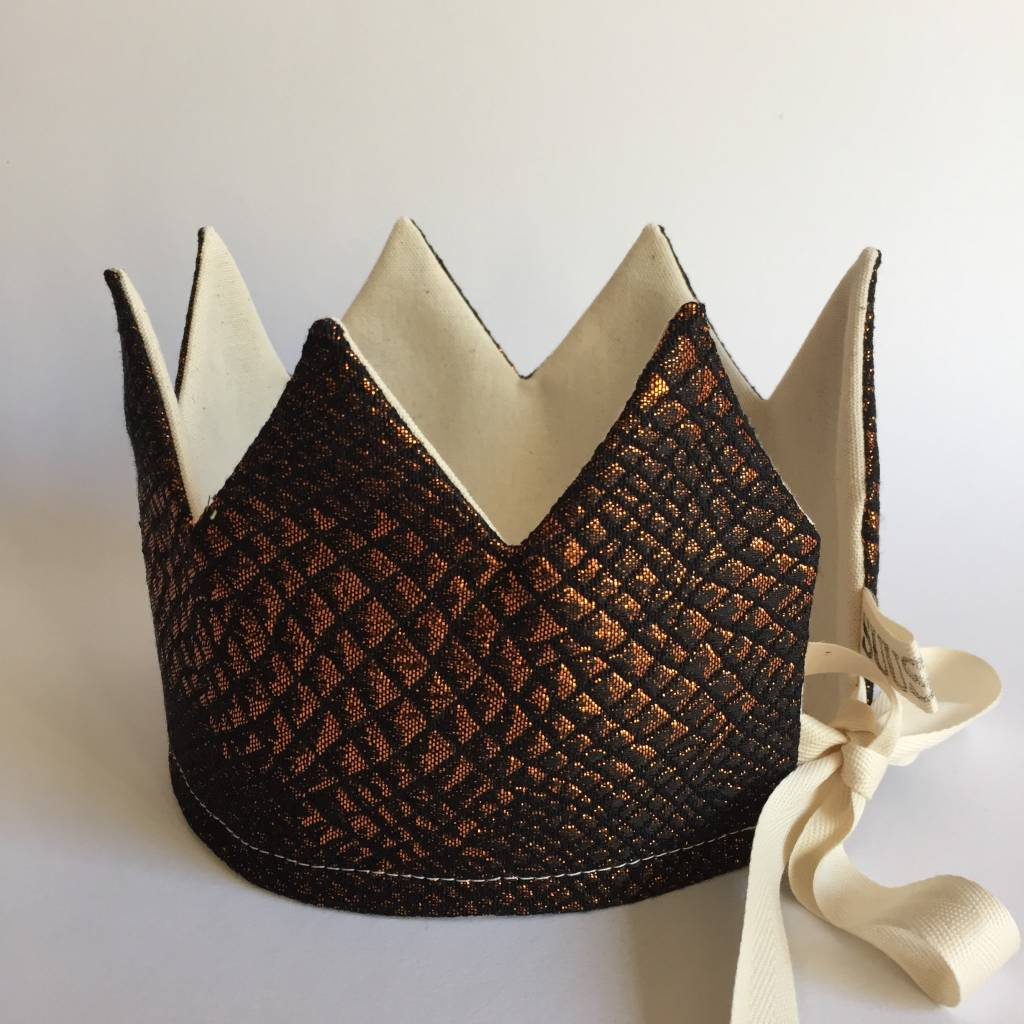 SUUSSIES crown fabric brass