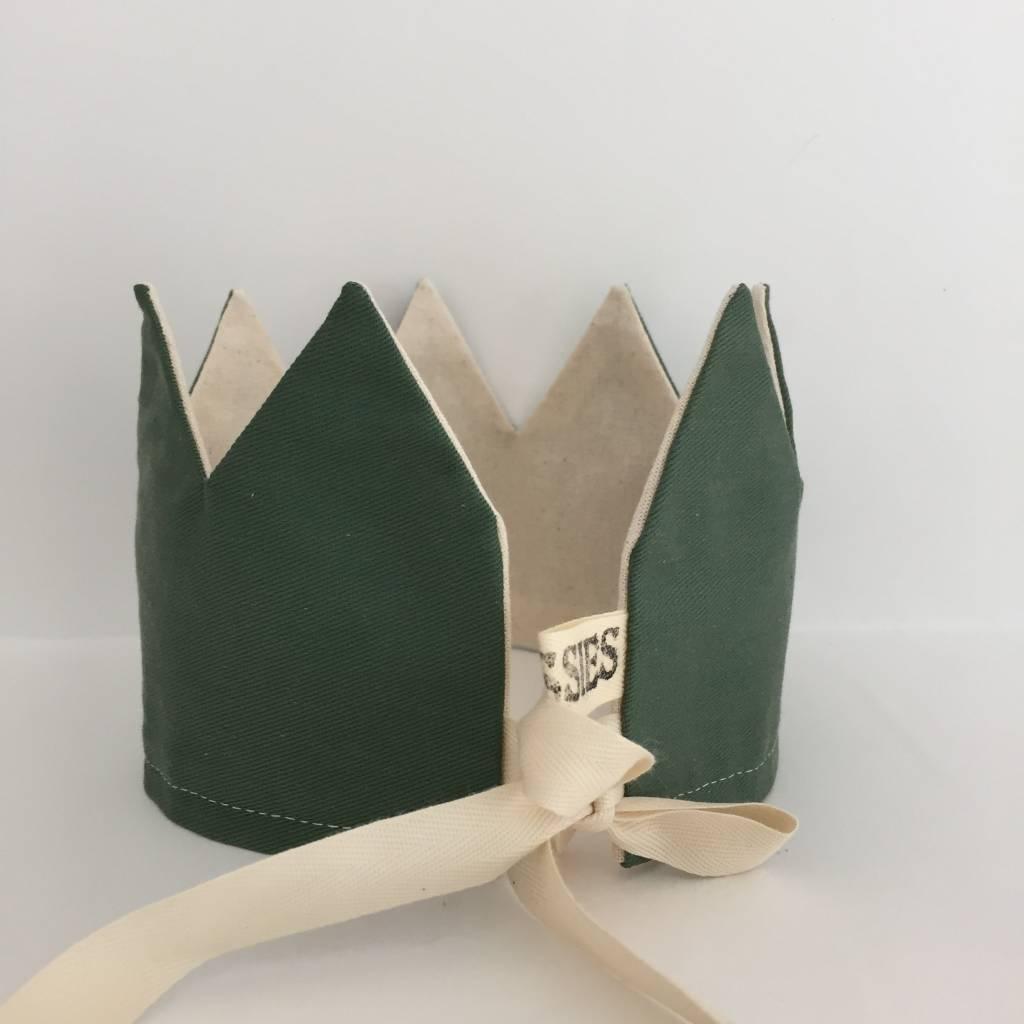 SUUSSIES crown fabric green