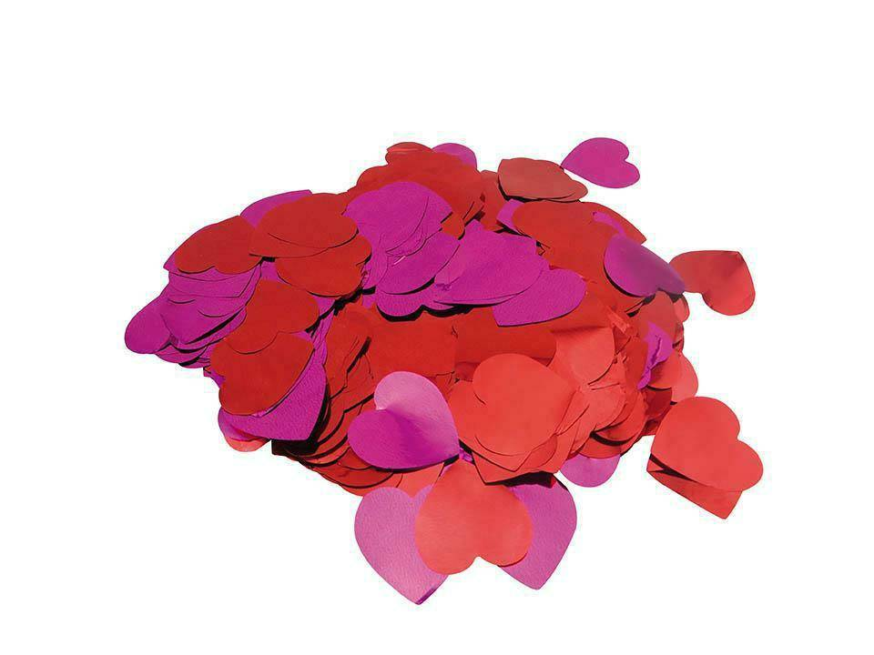 RICO FLITTER HEARTS, RED, PINK
