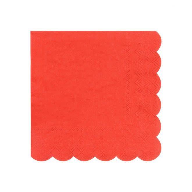 MERIMERI Red napkins S