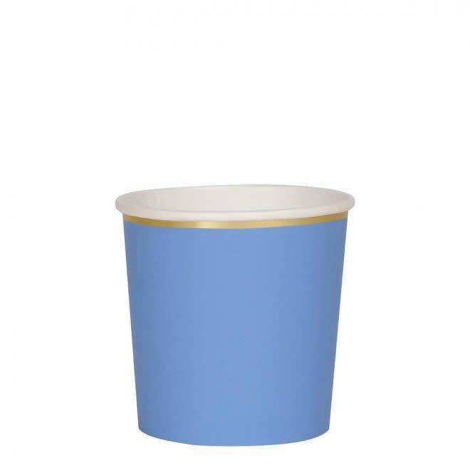 MERIMERI Bright blue tumbler cups