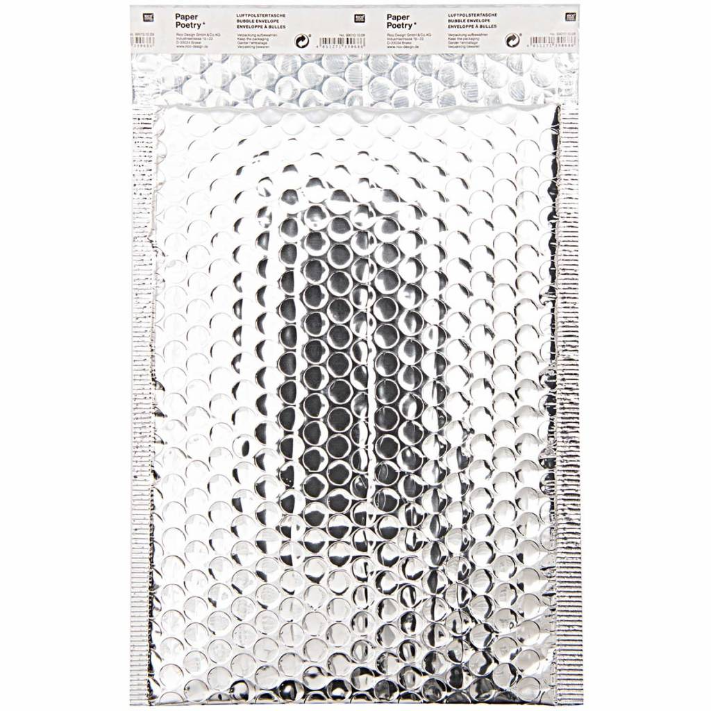 RICO BUBBLE ENVELOPE B5, SILVER
