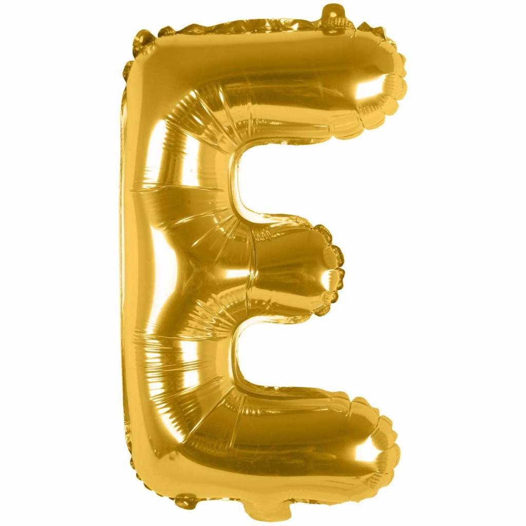 RICO Foil letterballoon small gold E