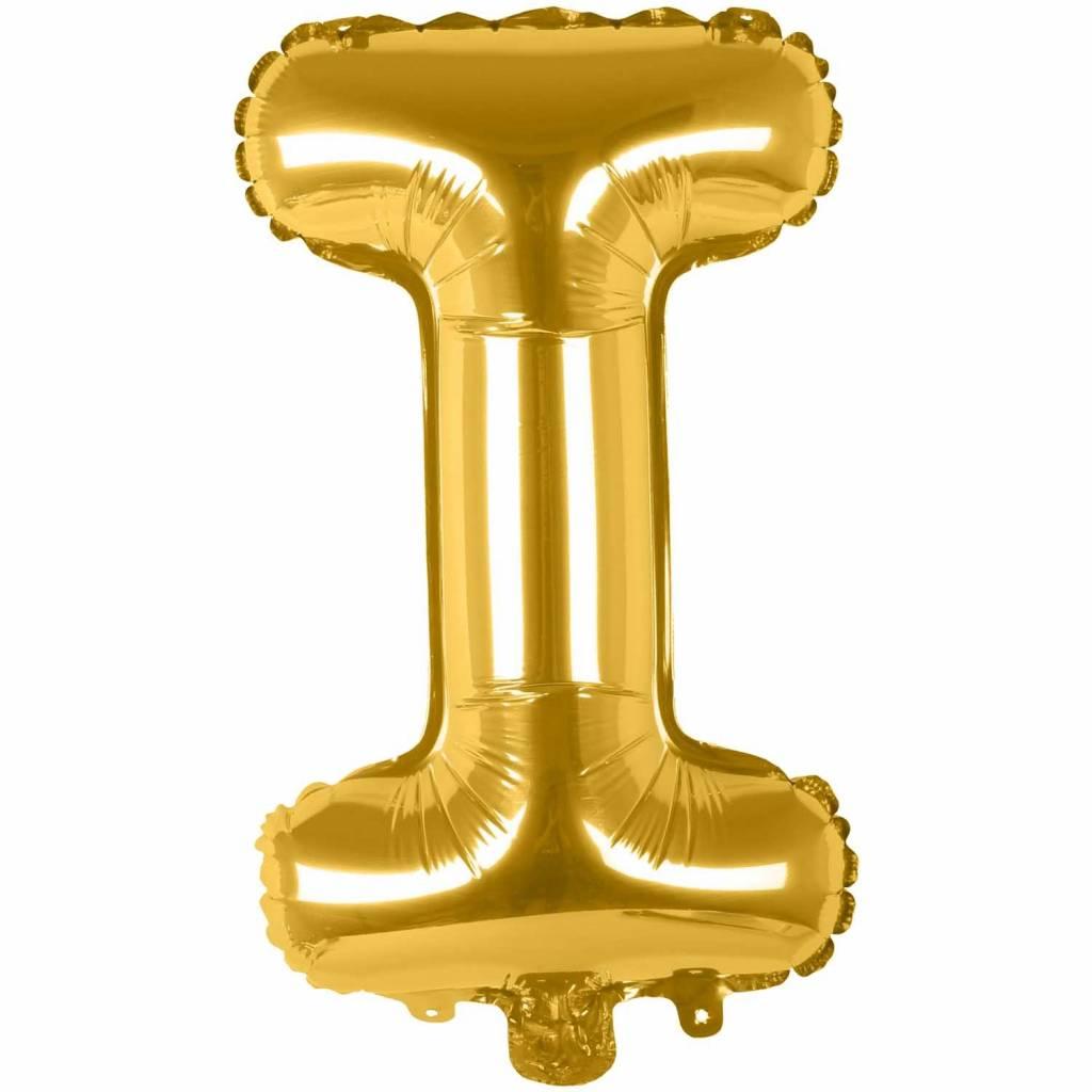 RICO Foil letterballoon small gold I