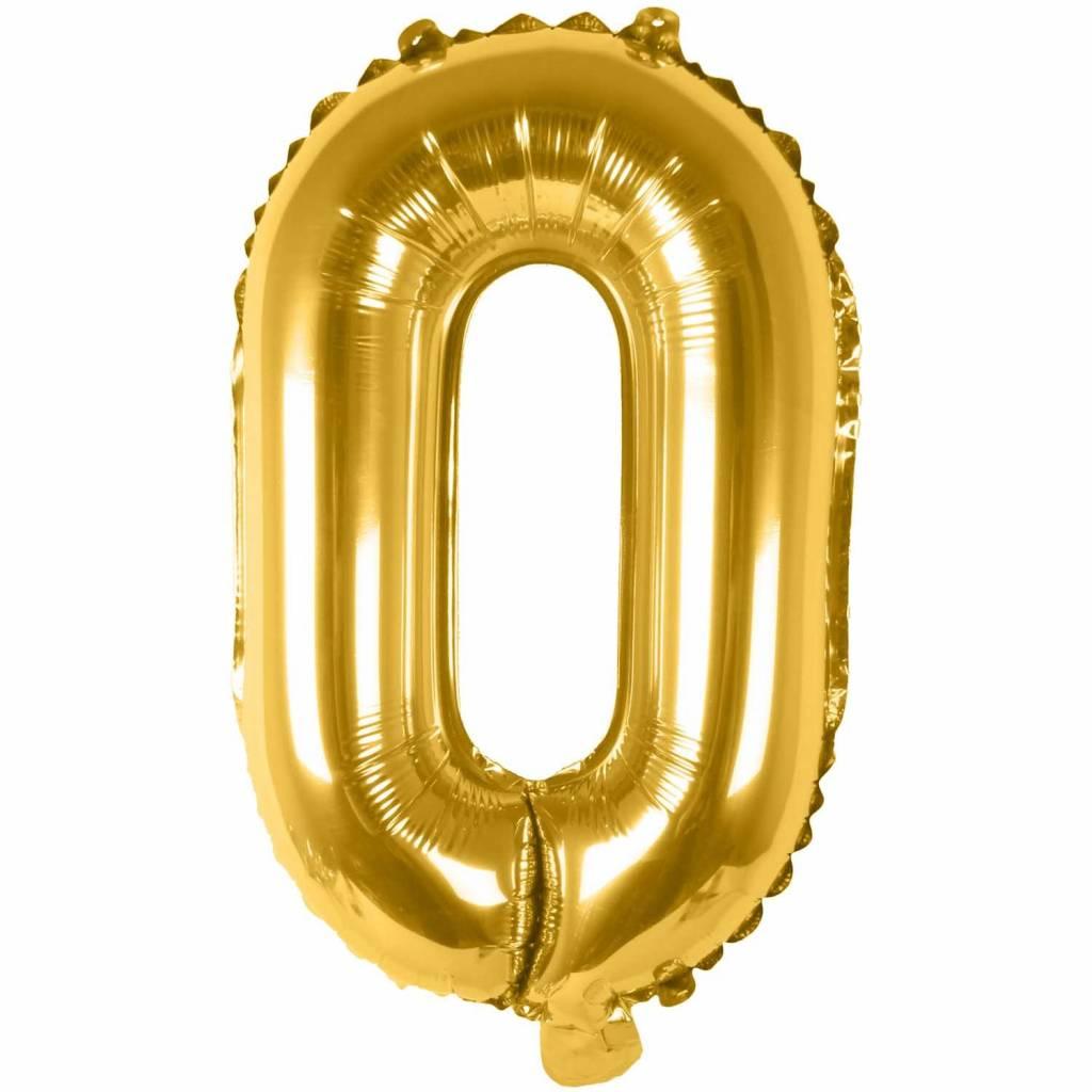 RICO Foil letterballoon small gold O