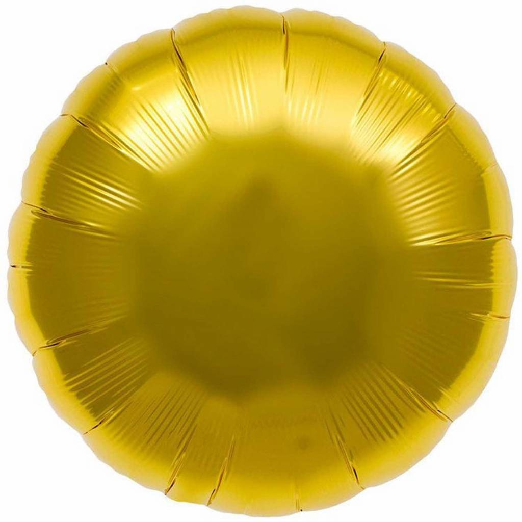 RICO Gold circle foil balloon small