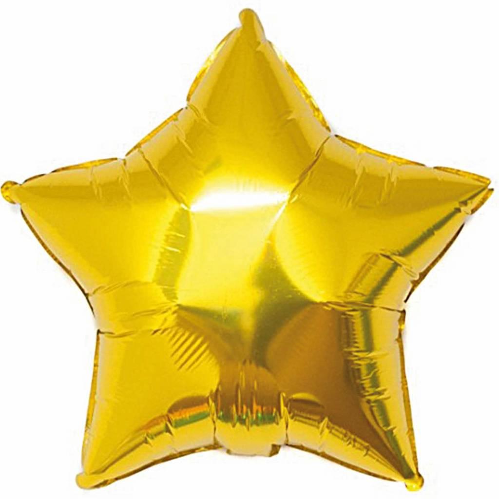 RICO Gold star foil balloon small