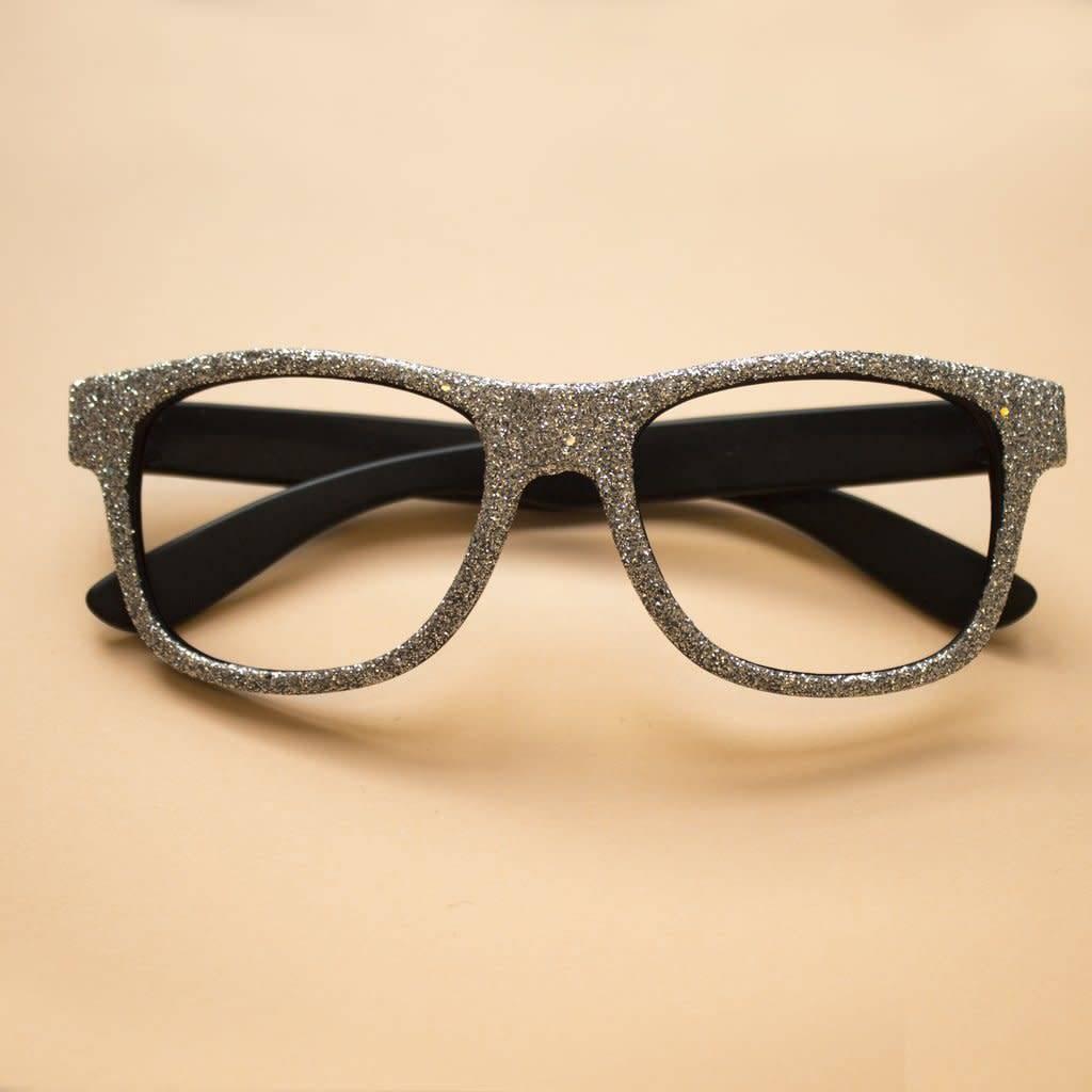 Mimi & Lula Glittery glasses silver