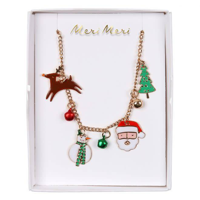 MERIMERI Christmas charm necklace
