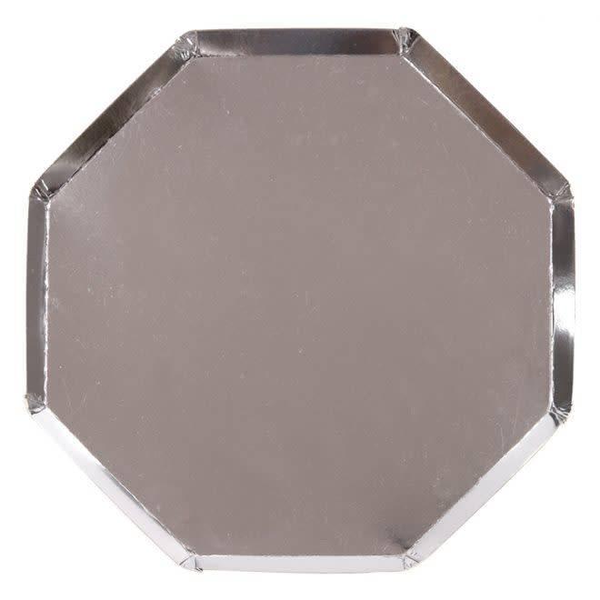 MERIMERI Silver dinner plates