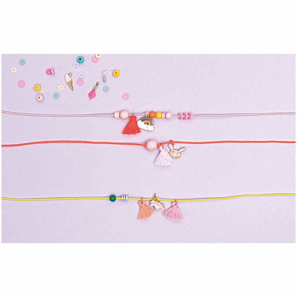 RICO ELASTIC BAND, NEON RED