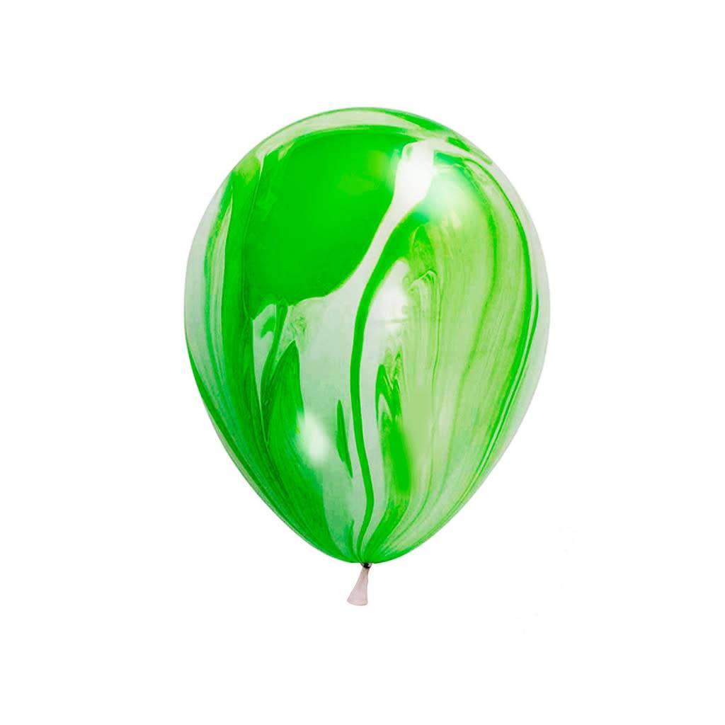 ABC 5 marble balloons green
